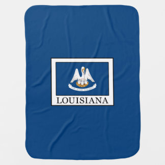 Louisiana Swaddle Blankets