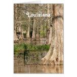 Louisiana Swamp Note Card