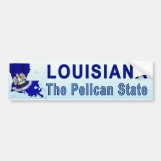Louisiana The Pelican State Bumper Stickers