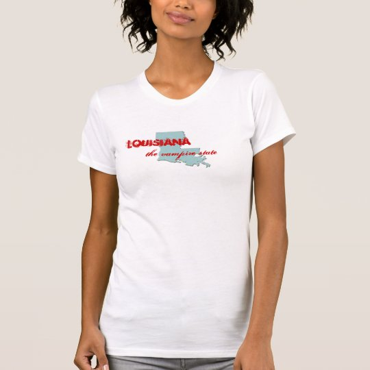 Louisiana, the vampire state T-Shirt