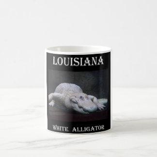 Louisiana White Alligator New Coffee Mug