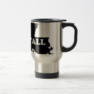 Louisiana Yall Travel Mug