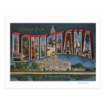 LouisianaLarge Letter ScenesLouisiana Postcard
