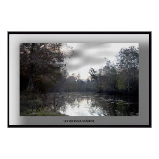 Louisianna-Sunrise-Poster - Customized Poster