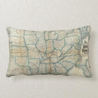 Louisville and Nashville Railroad 2 Lumbar Cushion