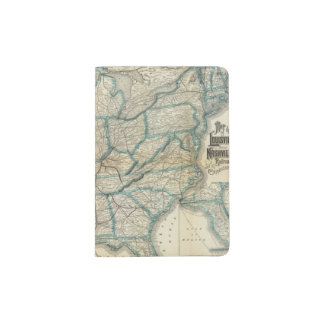 Louisville and Nashville Railroad 2 Passport Holder