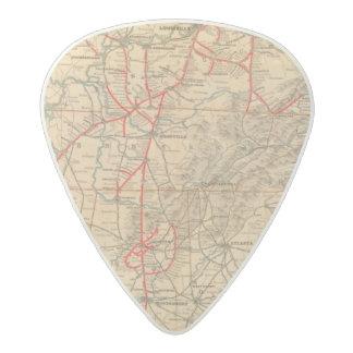 Louisville and Nashville Railroad Acetal Guitar Pick