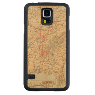 Louisville and Nashville Railroad Carved Maple Galaxy S5 Case