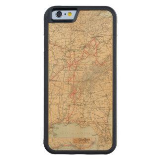 Louisville and Nashville Railroad Carved Maple iPhone 6 Bumper Case