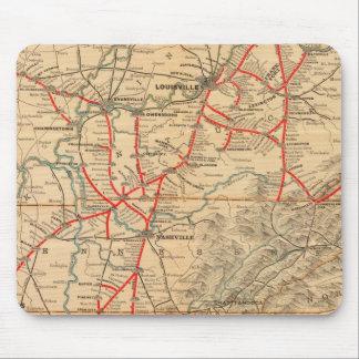 Louisville and Nashville Railroad Mouse Mat
