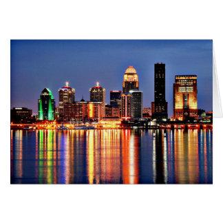 Louisville Kentucky Card