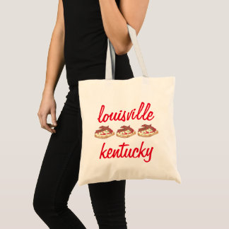 Louisville Kentucky Hot Brown Openface Sandwich KY Tote Bag