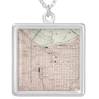 Louisville, Kentucky Silver Plated Necklace