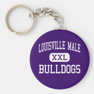 Louisville Male - Bulldogs - High - Louisville Key Ring