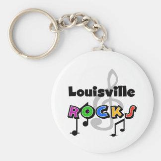 Louisville Rocks Key Ring