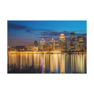 Louisville Skyline Canvas Print