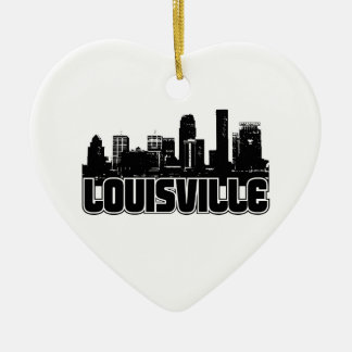 Louisville Skyline Christmas Ornament