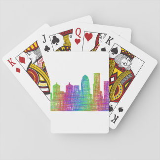 Louisville skyline playing cards