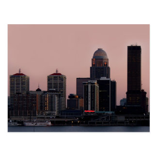 Louisville Skyline Postcard