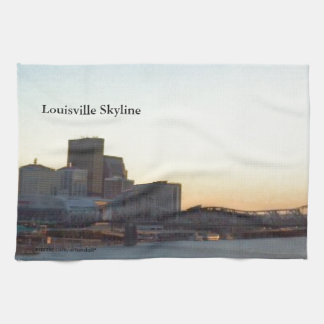 LOUISVILLE SKYLINE VIEW 1 TEA TOWEL