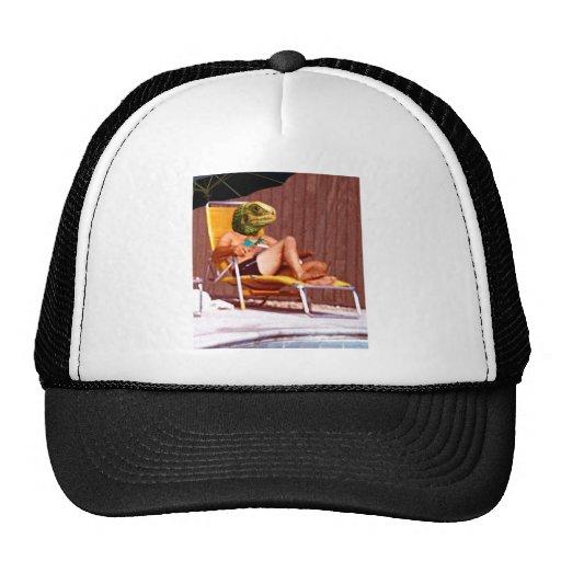 Lounge Lizard Chair Trucker Hats