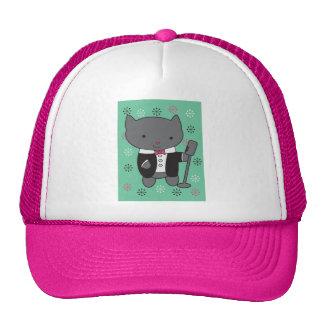 Lounge Singer Cat Cap