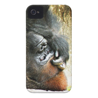 Lounging Gorilla iPhone 4 Barely There Case Case-Mate iPhone 4 Cases