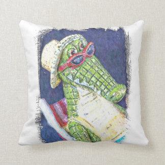 Loungning Lizard Cushion
