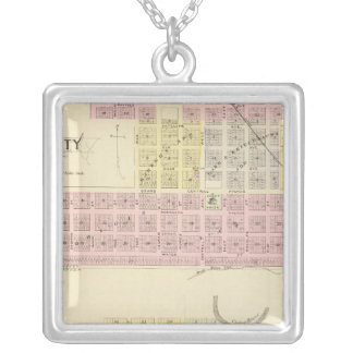 Loup City, Nebraska Silver Plated Necklace