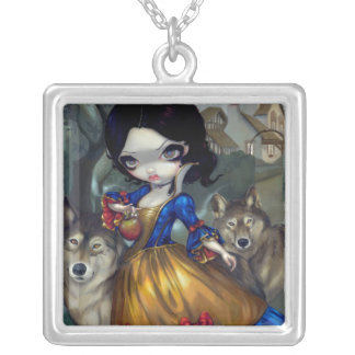 Loup-Garou Blanche Neige NECKLACE Snow White Wolf