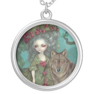 Loup-Garou: La Forêt NECKLACE rococo wolf gothic