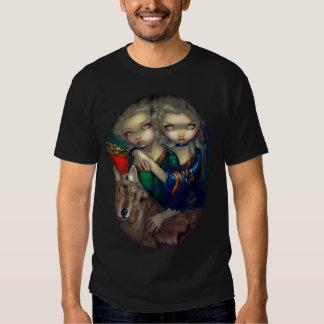 Loup-Garou: les Jumeaux SHIRT vampire wolf gothic