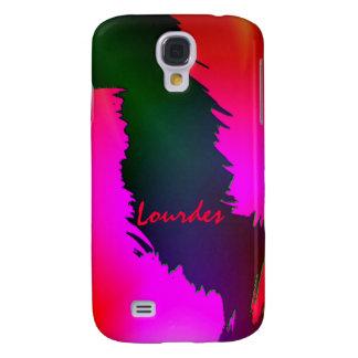 Lourdes Green and Pink Samsung Galaxy S4 case