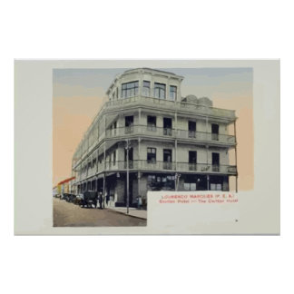 Lourenco Marques P E A Vintage Poster