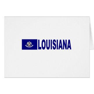 Lousiana Flag Greeting Card