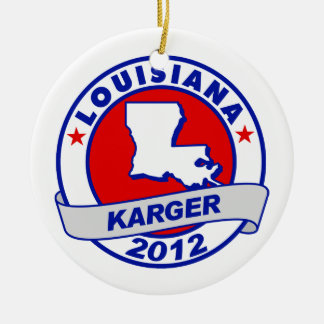 Lousiana Fred Karger Christmas Ornaments