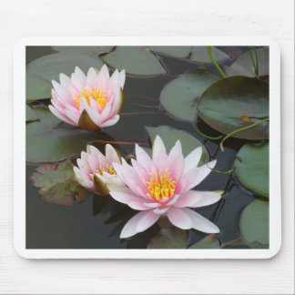 Louts Flower Mouse Pads