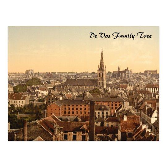 Louvain Cityview, Belgium Postcard