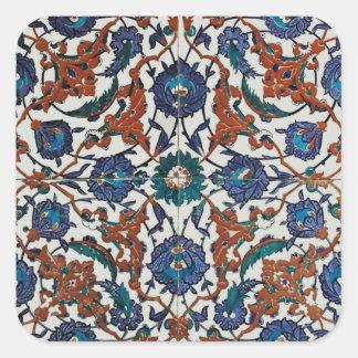 Louvre Floor Tile Square Sticker