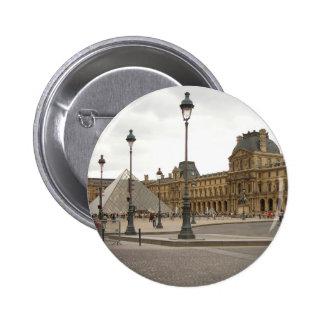 Louvre. Paris, France 6 Cm Round Badge
