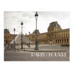 Louvre. Paris, France Post Cards