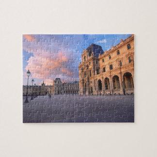 Louvre, Paris, France Puzzles