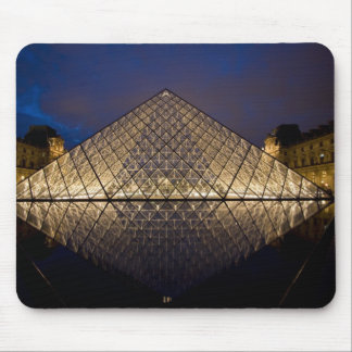 Louvre Pyramid by the architect I.M. Pei at Mouse Mat