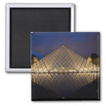 Louvre Pyramid by the architect I.M. Pei at Square Magnet