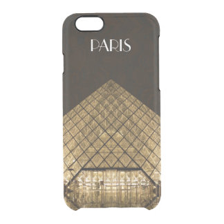 Louvre Pyramid iPhone 6/6S Clear Case
