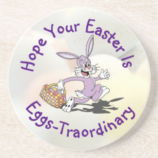 Lovable!! It's Easter Egg Hunting Season! Drink Coaster