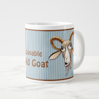 Lovable Old Goat - Customize Large Coffee Mug