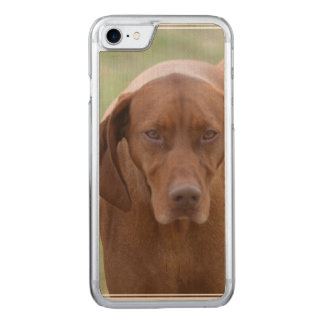 Lovable Vizsla Carved iPhone 7 Case