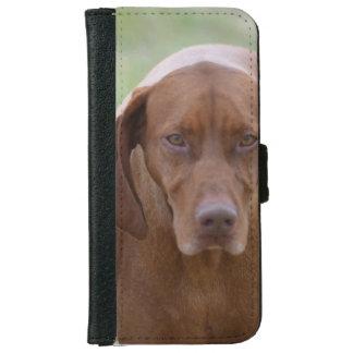 Lovable Vizsla iPhone 6 Wallet Case