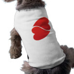 love2hearts dog tshirt